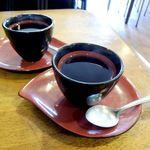 田中屋 - 食後のサービスコーヒー