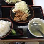 ラーメンとん太 - 焼肉定食 700円(税抜)