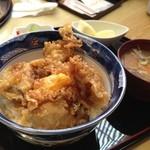 元禄鮨 - 激ウマ!!牡蠣天丼