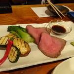 DININGあじと - ローストビーフ