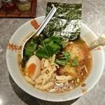 麺処かっすい55 - 2014年6月 期間限定 かきあげ醤油ラーメン 850