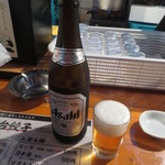屋台安兵衛 - 瓶ビール(中瓶)500円