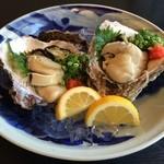 魚料理・寿司 二反田 - 別次元の岩牡蠣