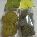ナナハコ 天六店 - 有機抹茶クッキー、ごまクッキー各200円有機ショートニング使用です♪
