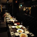 Delicious foods and Bar TATULA - テーブル24名様×5