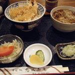 恵比寿庵 - 天丼セット