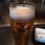銀の吟 - やはり生ビール