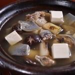 日本料理 日の出 - 浜名湖産すっぽん鍋