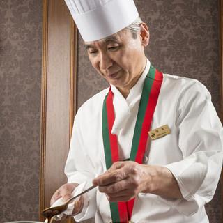 【和・洋・中・デザート】各料理長が美食をお届け