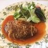 GRILL AMI - 料理写真:「Grill AMI」でハンバーグランチをいただきました^_^ ぜいたくキブン!