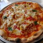 リストランテ ディ・カナレット - イタリアンソーセージのピザ
