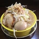 俺のドカ麺 - ドカ盛ラーメン塩(700円)野菜増し+味玉(ランチトッピング無料