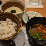 酒菜 ねむ太郎 - 麦とろごはん