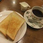 kafeeikokuya - モーニング・トースト