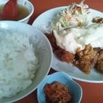 中華食堂チャオチャオ - チキン南蛮宮崎風(定食)