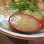 28394564 - スープはコレといった特徴は無かったです。