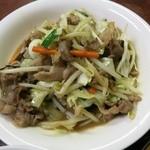 味良久 - 肉野菜炒め