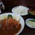 可亭 - ロースカツ定 850円
