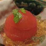 ぬる燗 佐藤 - 冷やしトマトの八芳煮