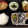 さぬきうどん店 - 料理写真:小いわし定食685円