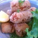 カフェ セレステ - 『大豆ミートのからあげ』お肉のような食感をベジでジューシーに!960yen