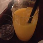 クイーンズバスリゾート - クーポンでオレンジジュース