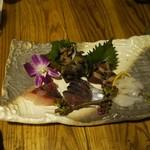 呑酔庵 味季 - Sliced fresh fishes.