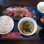 焼肉迎賓館 爛燈 - カルビ定食