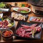 うなり - 食べごたえ抜群! ボリューム感たっぷりの焼肉コース! 5300円