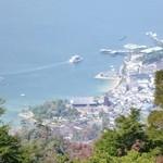 28403595 - 弥山@宮島 頂上からの景色