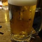 月の雫 - 生ビール