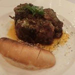 ワイズドッグカフェ ル・ジャルダン - 豚バラのシチリア風煮込み