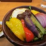 28409247 - 野菜ひしお丼 972円