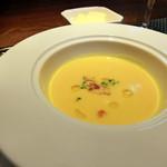 28409344 - かぼちゃとにんじんのスープ