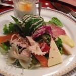 波木井レストラン&ブラッスリー - サラダ風オードゥブル