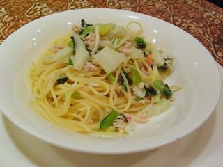 ビストロ・ラ・クッチーナ - ズワイと野菜のスパゲティーニ