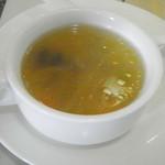 28411820 - セットのスープ