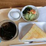のぞみの里喫茶新栄丸 - 料理写真:モーニングセット