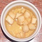 コトトワ - プレートランチ 1350円 の林檎果肉入りゼリー
