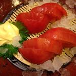 いっちょう - 冷やしトマト(皮なしで食べやすい)
