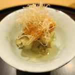 日本料理 太月 - 26年6月 焼き賀茂茄子、生雲丹