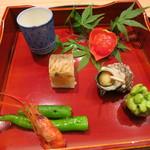 日本料理 太月 - 26年6月 八寸7種