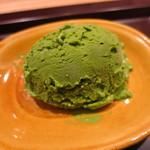 日本料理 太月 - 26年6月 抹茶アイス
