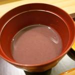 日本料理 太月 - 26年6月 冷し汁粉