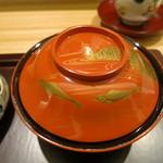 日本料理 太月 - 26年6月 葛きりの塗椀