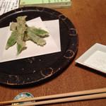 28425258 - 14.06.21sat ズッキーニロマネスコの天ぷら