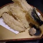 磯焼き 庄八 - きすの天ぷら(今日のオススメ)