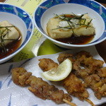 居酒屋 とうてつ - 豆腐の揚げ出し:350円(税別)