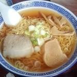 いずみ食堂 - いずみ食堂@十和田 ラーメンチャーハンセットのラーメン