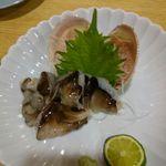 Tsukijikagurazushi - 生とり貝刺身